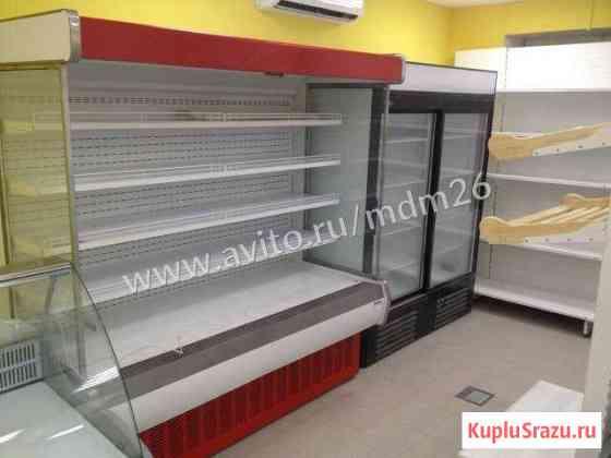 Пристенная витрина горка холодильная Ставрополь