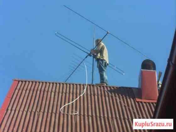 Установка антенн в Новосибирске Убинское