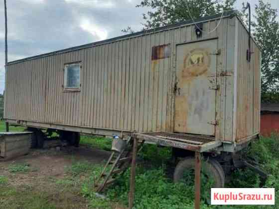 Вагон (дом-бытовка) на колесах Уфа