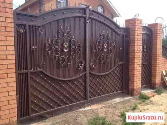 Кованные изделия(ворота,заборы,беседки и т.д.) Куртамыш