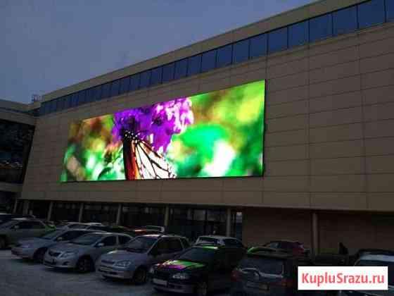 Светодиодный экран p8 для торгового центра Кемерово