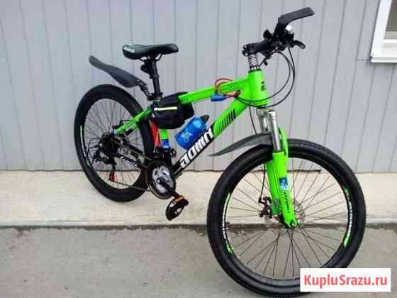 Новый алюминиевый велосипед с аксессуарами Барнаул