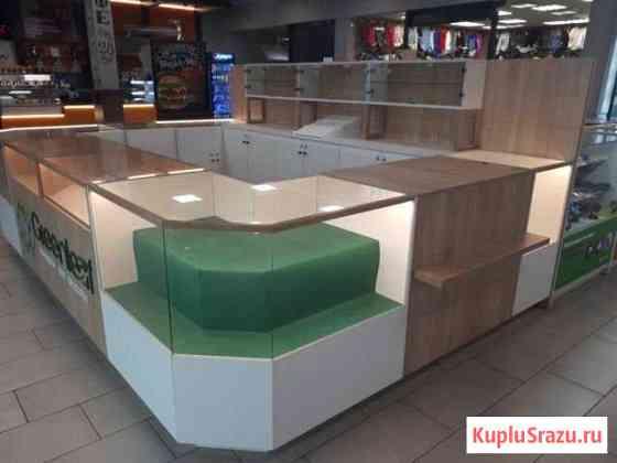 Мебель торговая для острова Калининград