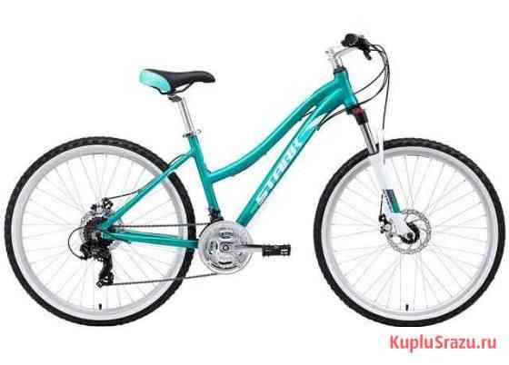 Велосипед Stark Luna 26.2 D бирюзовый (2019) Севастополь