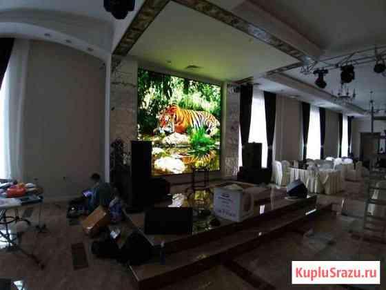 Светодиодный экран для сцены в ресторанах Уфа