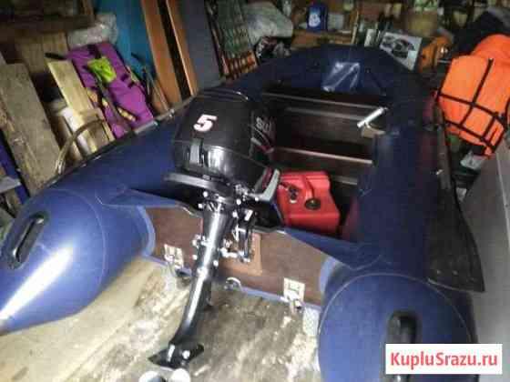 Мотор Suzuki DF5 Новая Ладога