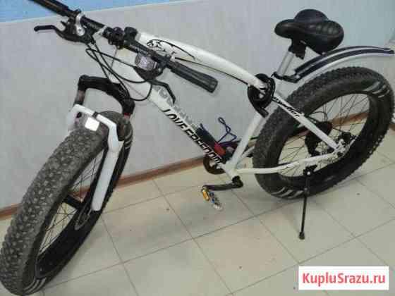 Мощный велосипед, модный велик, фет байк Остров