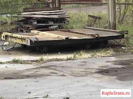 Передаточная самоходная тележка на рельсах Ангарск