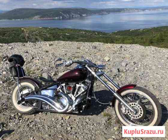 Мотоцикл Магадан