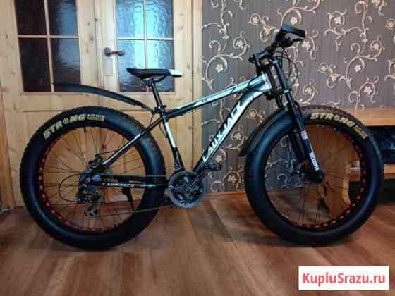 Новый велосипед Фэт Байк алюминиевый 26x4 Сокол