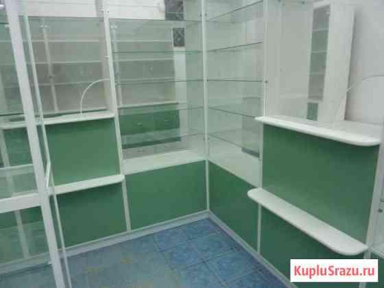 Стеллажи, прилавки и витрины для аптек Тула