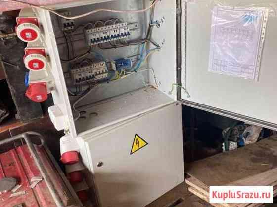 Электрический ящик с разводкой и автоматами Светлый