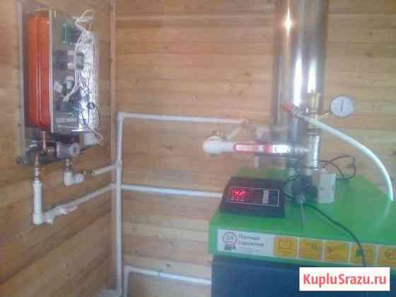 Отопление. установка котлов. водопровод Тосно