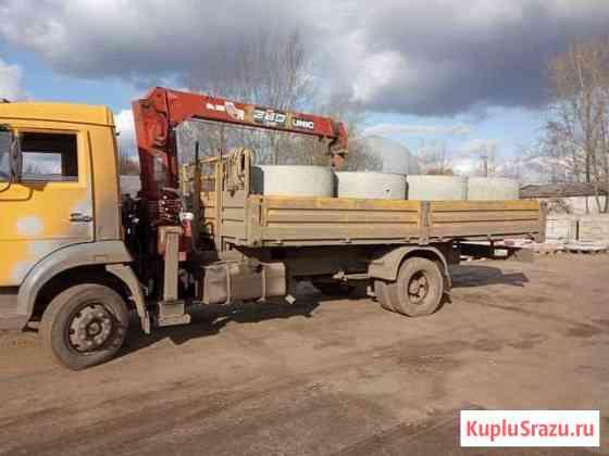 Услуги кран манипулятора камаз 4308 Рузаевка