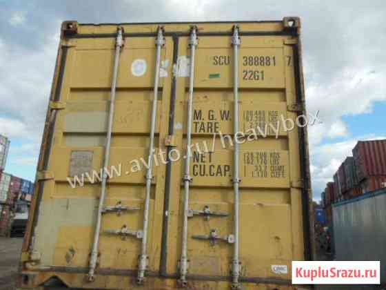 Морской контейнер 20 футов Томск