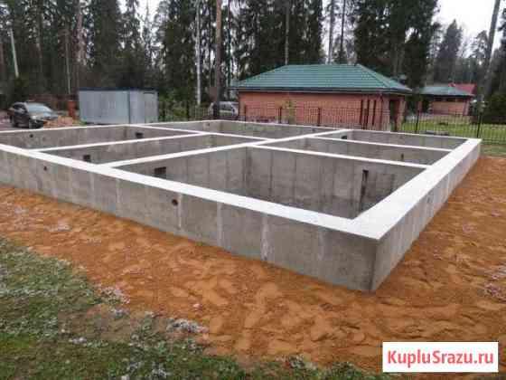 Фундамент септик бетонные работы Набережные Челны