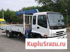 Грузоперевозки, услуги грузовика с краном Хабаровск