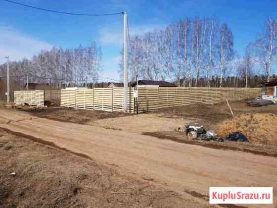 Установка заборов из профнастила, дерева, рабицы Ижевск