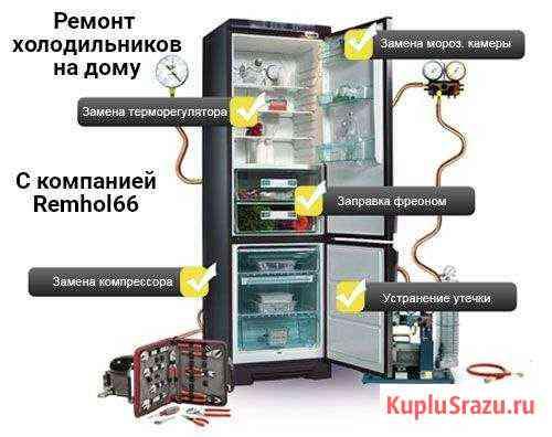 Ремонт холодильников на дому Пенза