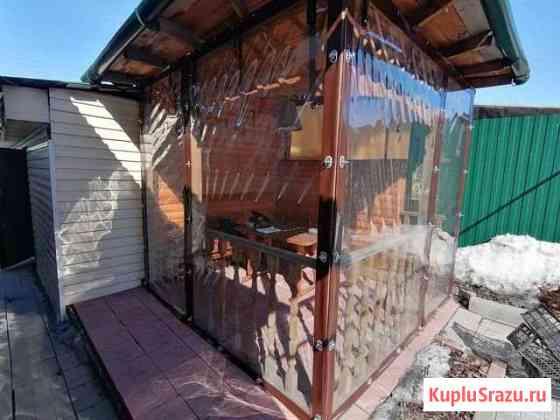 Тентовые шторы для летней беседки Новосибирск