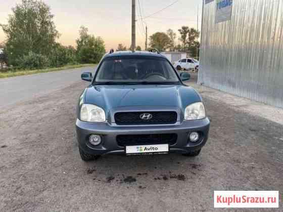 Hyundai Santa Fe 2.7AT, 2002, 214000км Богородицк