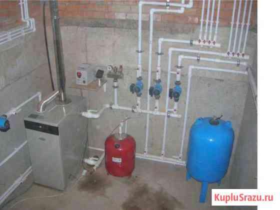 Отопление водопровод Воронеж