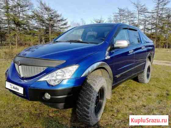 SsangYong Actyon Sports 2.0 AT, 2010, 107 000 км Магадан