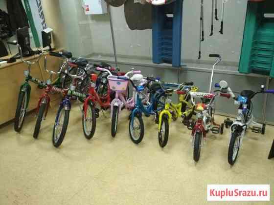 Детские велосипеды на любой возраст новые Череповец