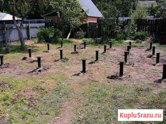 Фундаменты на забивных и винтовых сваях Мытищи Мытищи