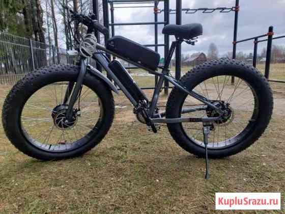 Электровелосипед полный привод Череповец