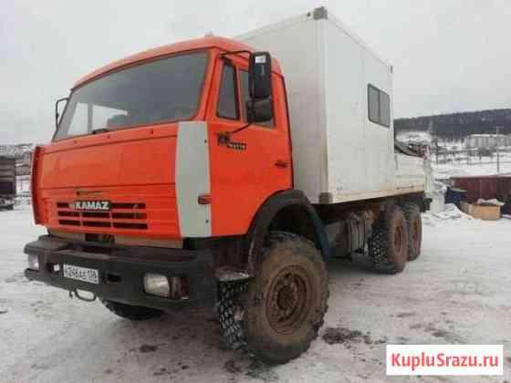 Камаз 43118 ремонтная мастерская с кму Усть-Кут