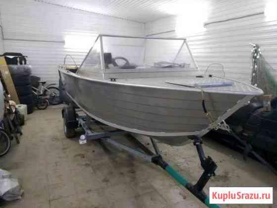 Лодка Бестер 490 с мотором Сузуки 90 4х тактным Александровское