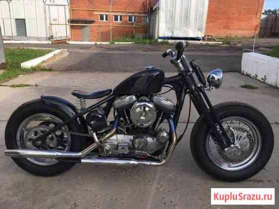 Harley-Davidson custom bobber Малоярославец