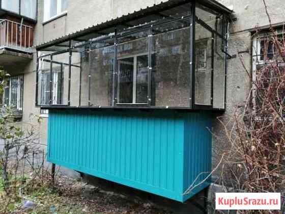 Металлические балконные рамы а так же ремонт Магнитогорск