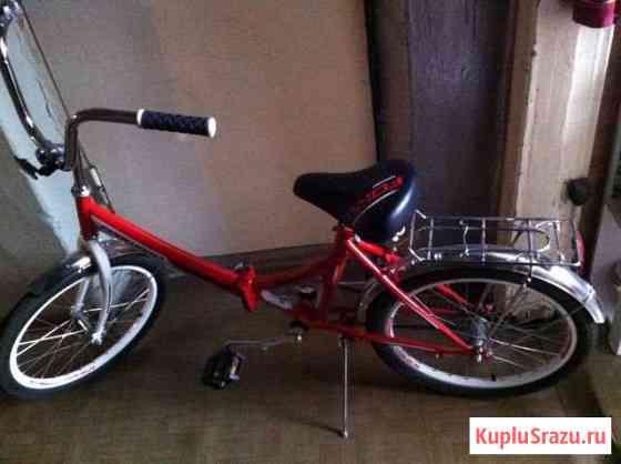 Велосипед новыйАрсенал складной взрослый красный Кемерово