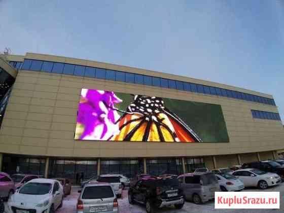 Светодиодный экран для торговых центров Уфа