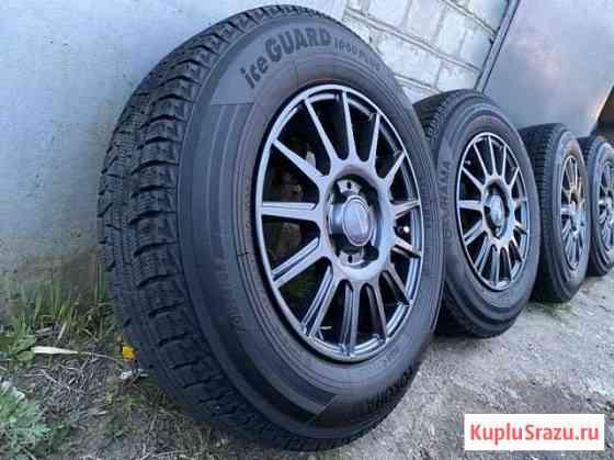 Комплект колёс на зимней резине Yokohama в IG50+ Хабаровск
