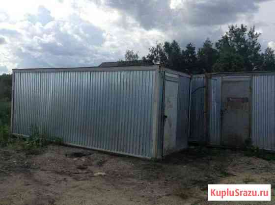 Вагончик жилой б/у,6м, с белой дверью Аксай
