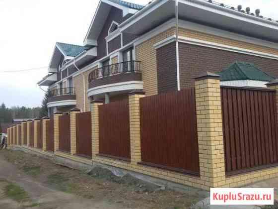 Строительства домов, бань, коттеджей, заборов Екатеринбург