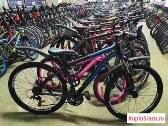 Велосипед 27.5д алюминий диски новый Калуга