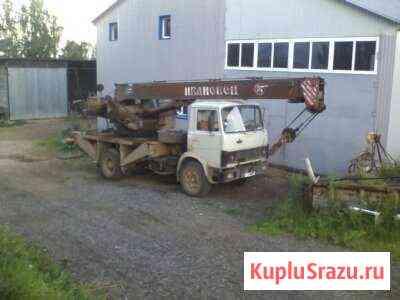 Автокран маз Кунгур