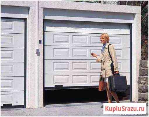 Секционные гаражные ворота (Нягань) Нягань
