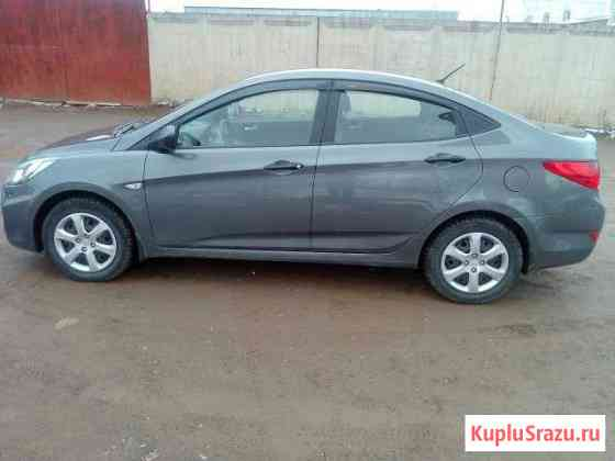 Hyundai Solaris 1.4МТ, 2012, 58000км Ижевск