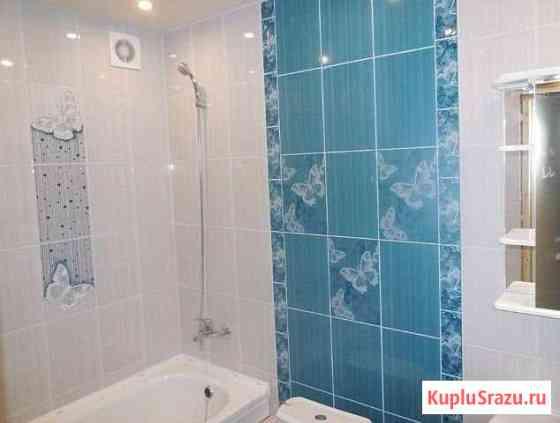 Укладка кафельной плитки Ванная комната под ключ Курск