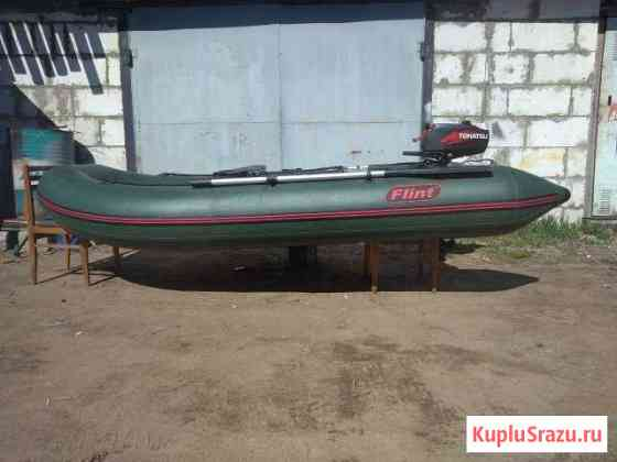 Лодка + мотор Ломоносов