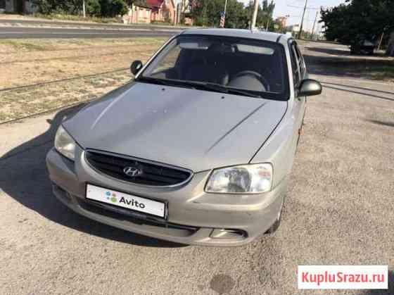 Hyundai Accent 1.6МТ, 2007, 190000км Ростов-на-Дону