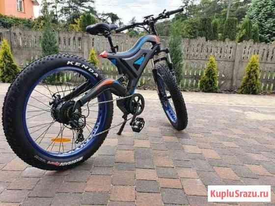 Электрический велосипед 500 Вт 48 В 10,4 Ач Белово