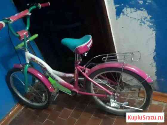 Велосипед для девочки 4-9 лет Изобильный