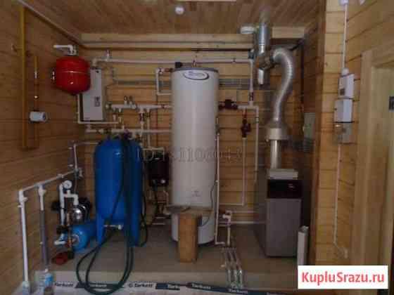 Монтаж систем отопления, водоснабжения, теплый пол Казань