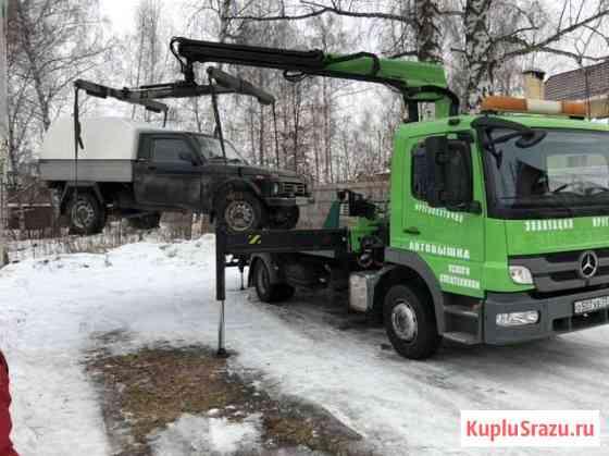 Эвакуатор - манипулятор (кму), автовышка Казань